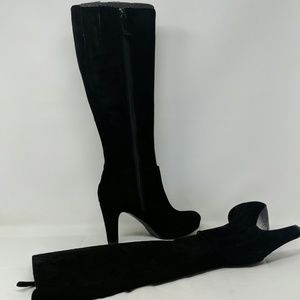 Nine West Persephone Suede knee Boots